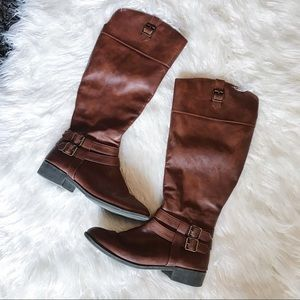AMERICAN EAGLE | Riding Boots Tall Brown Shoes 8